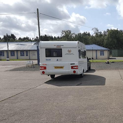 Caravan Manoeuvring Course