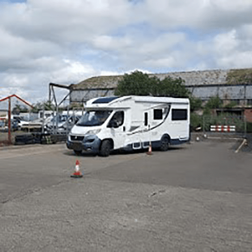 Motorhome Manoeuvring Course